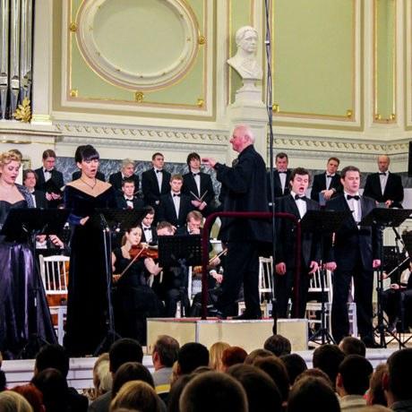 Государственная академическая капелла Санкт-Петербурга. В. А. Моцарт, Реквием для солистов, хора иоркестра