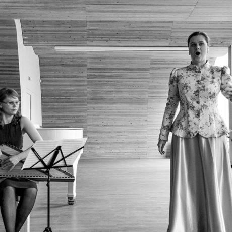 Концерт «Весенние перезвоны». Библиотека Алвара Аалто. Россия, г.Выборг