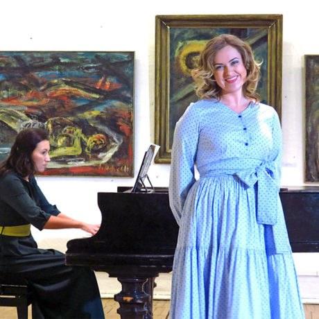 Предновогодний Камерный концерт всоюзе художников 27декабря 2015. М. П. Мусоргский «Детская»