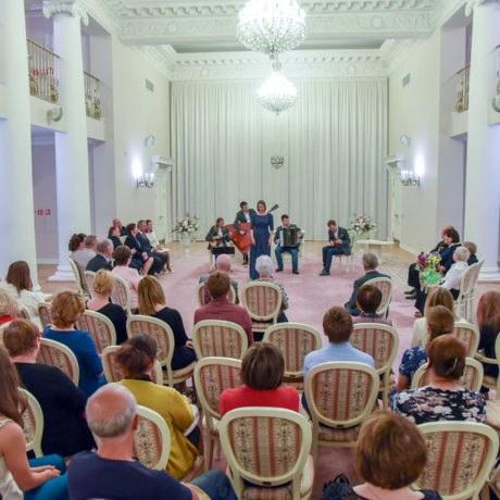 Чествование юбиляров супружеской жизни, Дворец бракосочетания №3, Россия, г.Пушкин