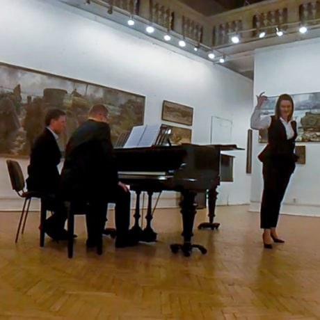 Камерный концерт вСоюзе художников— 4марта 2017г. —Д. Д. Шостакович, цикл «Сатиры»