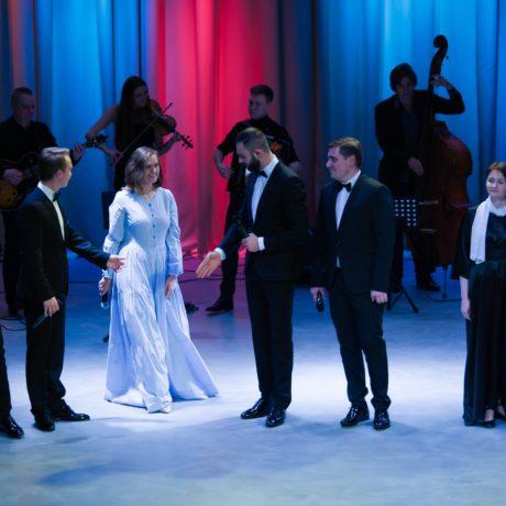«Новогодний концерт»— большой концертный зал ЦГИ им.А.А. Ахматовой. Россия, г.Пушкин